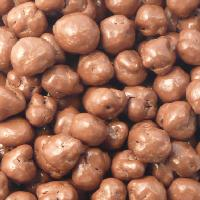 Chocolate Covered Caramel Popcorn - Rich milk chocolate seals in the fresh taste of crisp caramel popcorn.  Approximately ¾ pound is packaged in our deluxe gold gift box.  This is one of our most popular products.